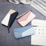 Top Selling Lady Envelope Shape PU Leather Long Cheap Women Wallet