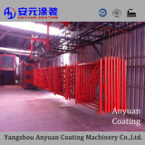 Outdoor Powder Coating for Lamppost Powder Paint Equipment