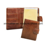 Leather Business Notebook Organizer Travel Diary Commercial Notepad