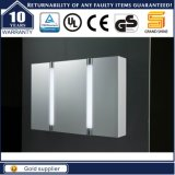 Wall Mounted MDF LED Light Bathroom Mirror Cabinet for Hotel