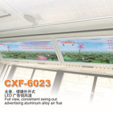Bus Advertising Aluminum Alloy Air Flue for Air Conditioner Vent (CXF-6023)