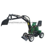 Cheap Mini Trencher Bulldozer Digger Backhoe Excavator Shovel Forestry Machinery