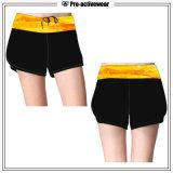 Custom Gym Shorts OEM Factory Wholesale Lycra Yoga Fitness Shorts
