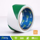 Green and White No Adhesive PE Warning Tape, Barrier Tape