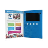 4.3inch LCD Video in Print Greeting Card Brochure