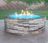 Landscaping Crushed Reflective Fire Glass
