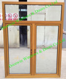 Australia Standard Wooden Aluminium Window, As2047 Standard High Safety Performance Wood Aluminum Window
