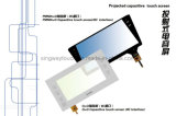 9.8 Inch Projected Capacitive Glass Touch Screen Shell