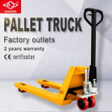 3 Ton Rubber Wheel Hydraulic Hand Pallet Truck with CE GS Tested