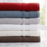 100 Percent Turkish Cotton Towels Set White