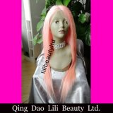 Wholesale Human Hair Full Lace Wigs for Black Women, Free Lace Wig Human Hair Pink Hair