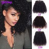 Cheap Kinky Curly Clip-in 100% Human Hair