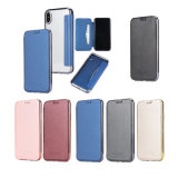 for iPhone 8/8 Plus/X Removable Wallet Cover Case Flip Phone Card Pocket Holder