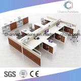 6 Seats Office Cubicle Wooden Computer Desk Workstation