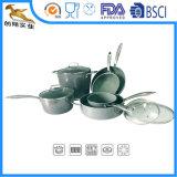 Wholesale FDA LFGB Certificate Kitchen Cook Tools White Aluminum Ceramic Cookware