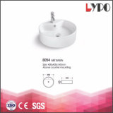 Wholesale Round Ceramic Bathroom Hand Basin