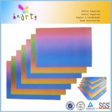 Colorful Rainbow Corrugated Paper for Craft