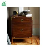 Solid Wood Lower Price Nightstand with Drawer