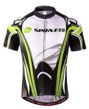 Men Cycling Jersey Tops Shirts Short Bicycle Jacket with Pockets