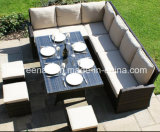 Outdoor Rattan Chair Table Dining Set Wicker Furniture