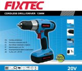 Fixtec Power Tools 20V 1300mAh 13mm Battery Cordless Drill