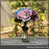 Real Touch Dynamic Rose Artificial Wedding Flower Arrangement