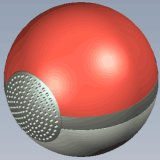 2016 New Arrival Pokemon Go Ball Bluetooth Speaker with TF Card FM Radio Function