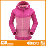 Women′s Hoody Fleece Fashion Sport Jacket