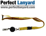 Promotion Lanyard Strap with Easy Pull Buckle