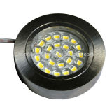 Round Surface Mounted Cabinet 2.4W 12V 200lm LED Cabinet Light