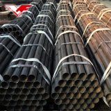 ASTM A53m Gr. B Black Round Mild Steel Pipes Carbon Steel Pipe Raw Materials Iron Tube