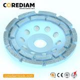 High Performance Diamond Double-Row Cup Wheel/Grinding Cup Wheel