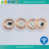 High Quality 13.56MHz Round Ntag213 RFID Coin Card