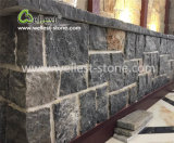 Rectangle Black Grey Brown Limestone Fieldstone for Floor Wall Covering