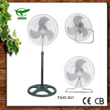"3n1 Cheap Power 18"" Pedestal Fan Electrical Standing Fan"
