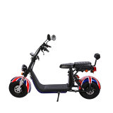 60V 2000W Electric Scooter/Citycoco/Harley with 60V 12ah*2/24ah Dual Lithium Battery Custom Appearance Good Factory Price