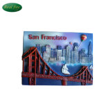 Custom 3D Style Resin San Francisco Fridge Magnet for Decoration