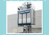 Construction Elevator Hoist Lift for Chimney Lift Outdoor Usage Lifting People and Material