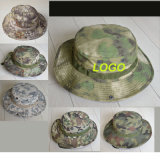 Camouflage Outdoor Army Soldier Bucket Bonnie Hats