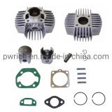 Motorcycle Cylinder Assy with Piston and Gasket Puch Maxi 38mm Cout 44mm