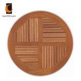 Anti Fading Wholesales Restaurant Furniture Teak Wood Veneer Dining Set Wooden Bistro Tables Table Top