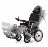 Wholesale High Quality High Back Tilted Foldable Power Electric Wheelchair