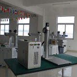 Cheap Shandong Liaocheng Jpt 30W Fiber Laser Marking Machine for Metal Marking or No-Metal Materials with Camera Location