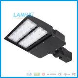 100W Shoebox Lighting Parking Lot Lamp Angle Adjustable LED Module Street Light with Photocell Sensor