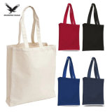 Eco Friendly Lady Fashion Carrier Travel Bag, 100% Organic Recycle Cloth Shopping Bag, Promotional Customized Logo Cotton Canvas Tote Bag
