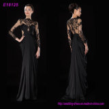 Wholesale Fashion Classic Designs Long Sleeves Evening Dress Party Dress