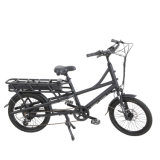 Wholesale Electric Cargo Bike for Delivery with Rear Rack Big Battery Pedal Assist