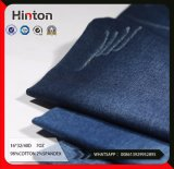 8s Cross Hatch Slub Twill Stretch Denim Fabric