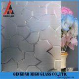 Clear/Colored Patterned Figured Glass (Moru, Diamond, Flora, Karatachi, Millennium, Mistlite, Nashiji etc) with Ce&ISO