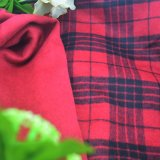 Checked, Fleece Fabric, for Jacket, Garment Fabric, Textile Fabric, Clothing